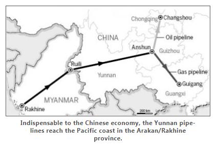 China Myanmar Pipeline